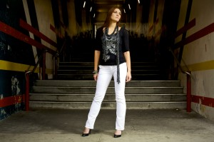 The Wardrobe Campaign: Angel and the Pedestrian Tunnel